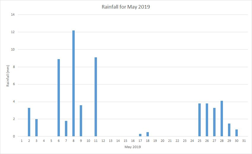 Rainfall May 2019